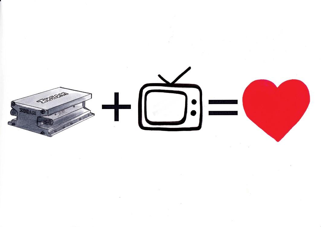 tv - Ibeam Körperschallwandler